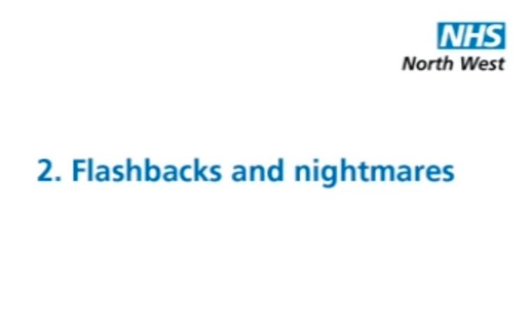 Thumbnail for PTSD: Flashbacks and nightmares