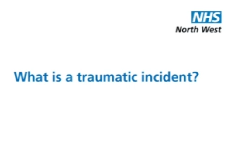 Thumbnail for What is a traumatic incident?