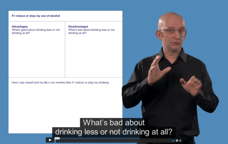 Thumbnail for What do you want to do about drinking alcohol?