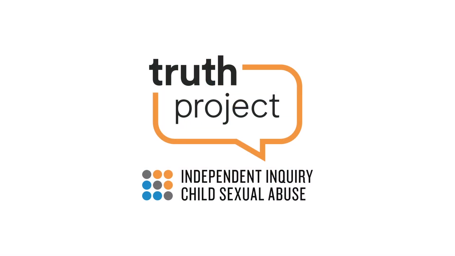 logo for the truth project and the independent inquiry into child sexual abuse