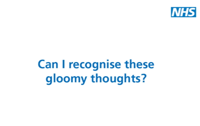 Thumbnail for Can I recognise these gloomy thoughts?